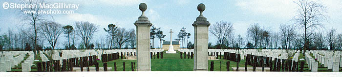 Canadian War Cemetery at Beny-Sur-Mer, France