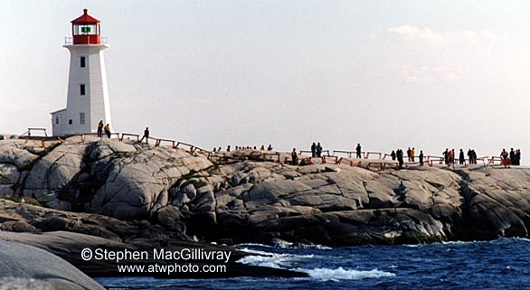 Families gather at Peggy's Cove